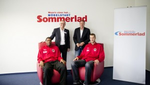 giessen 46ers spitzenbasketball mit wohnzimmer komfort in der sommerlad fanlounge bei den. Black Bedroom Furniture Sets. Home Design Ideas